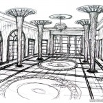 Ataturk Palace Sketch (1)